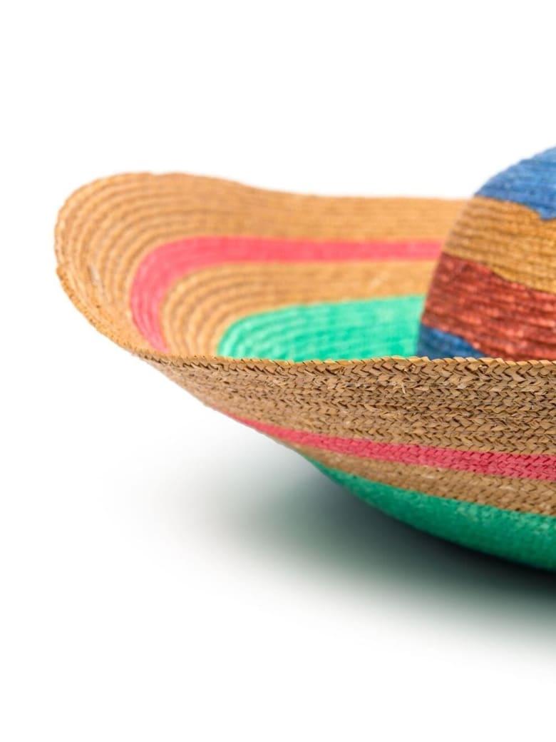 Missoni Striped Multicolor Straw Hat - Multicolor