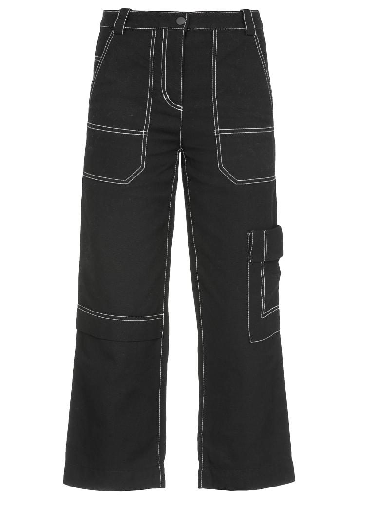 3.1 Phillip Lim Cargo Denim Trousers - BLACK