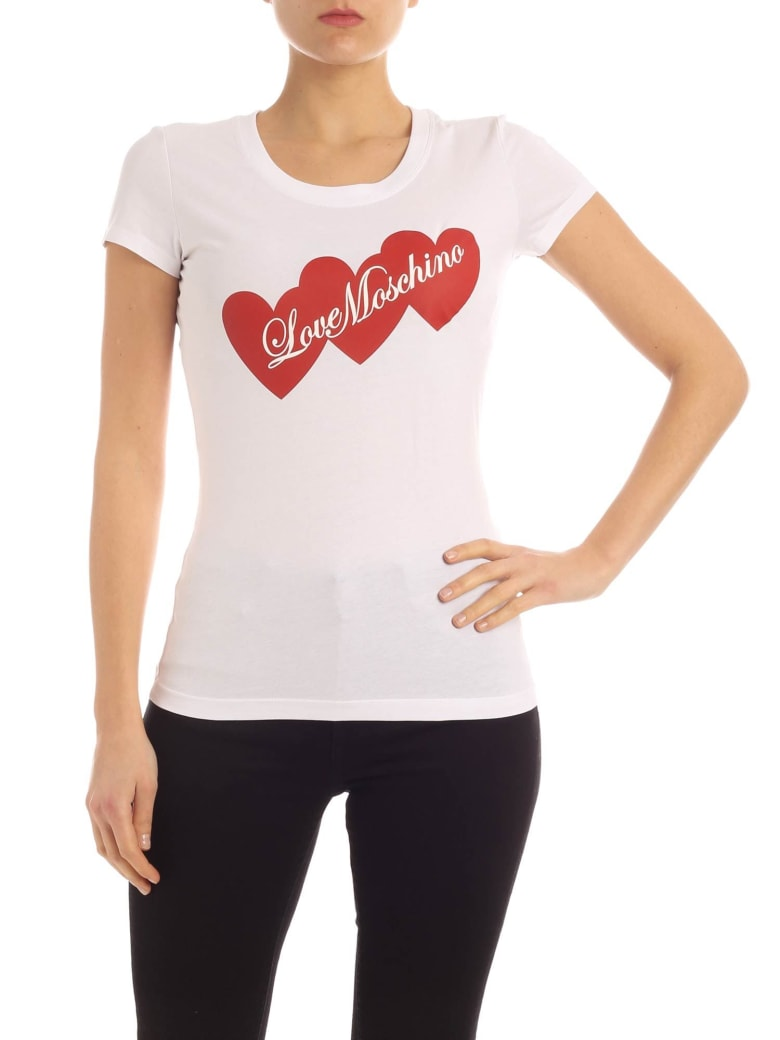 Love Moschino T-shirt - Bianco
