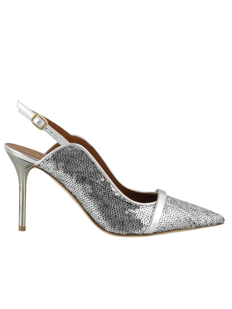 Malone Souliers Marion Luwolt Sling Back - Silver/silver
