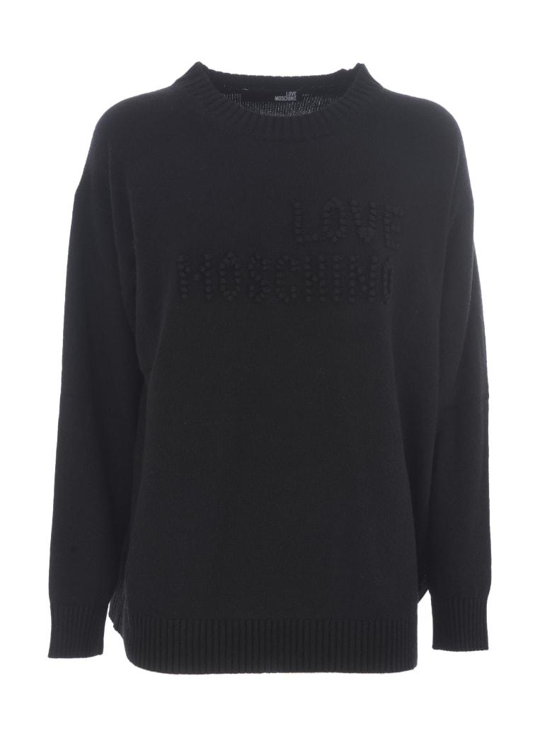 Love Moschino Sweater - Nero