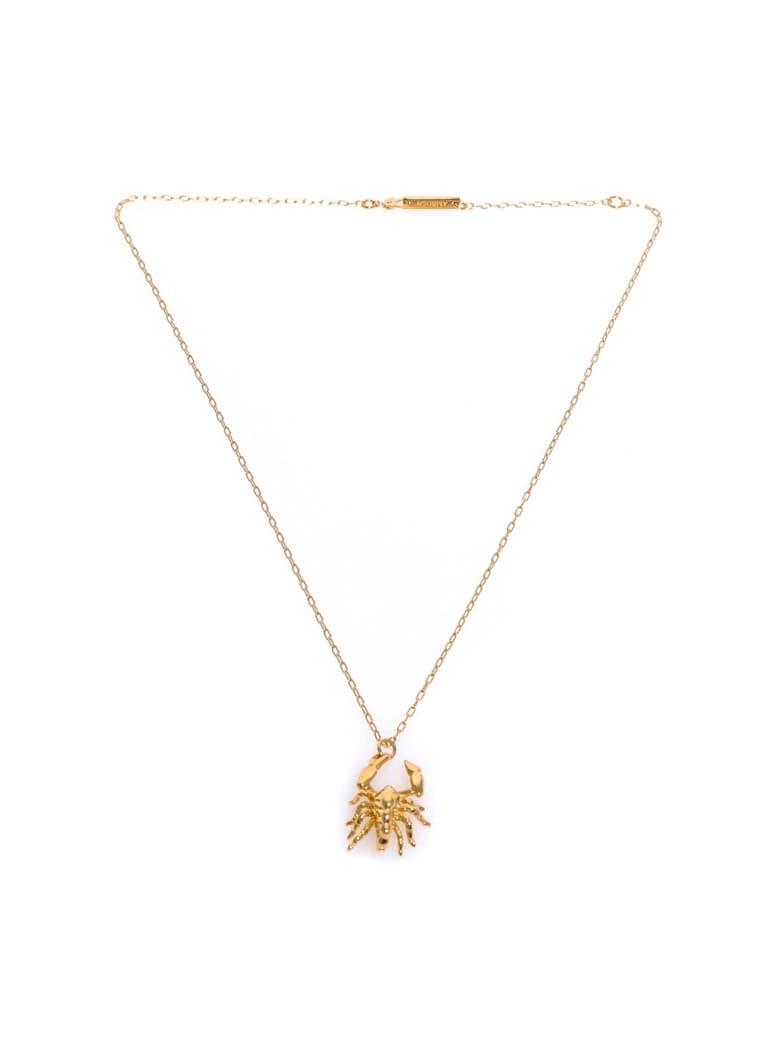 AMBUSH Scorpio Charm Necklace - Gold