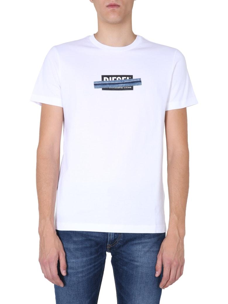 Diesel Crew Neck T-shirt - BIANCO