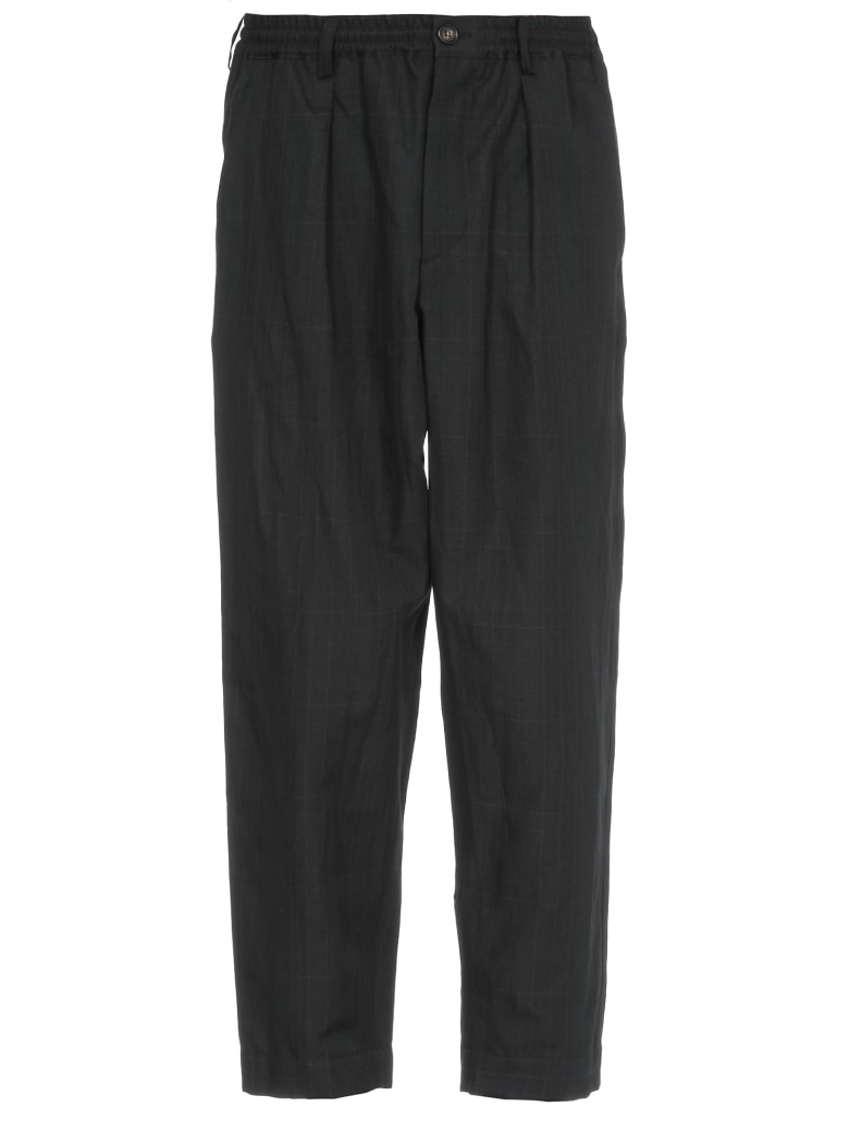 Marni Oversize Trousers - BLACK