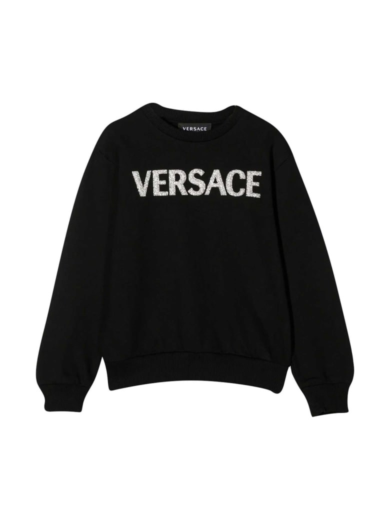 Young Versace Black Sweatshirt - Nero