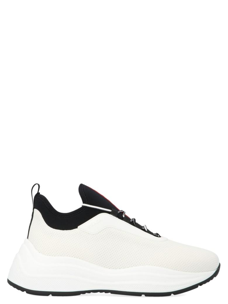 Prada Linea Rossa 'barca Xl' Shoes - White