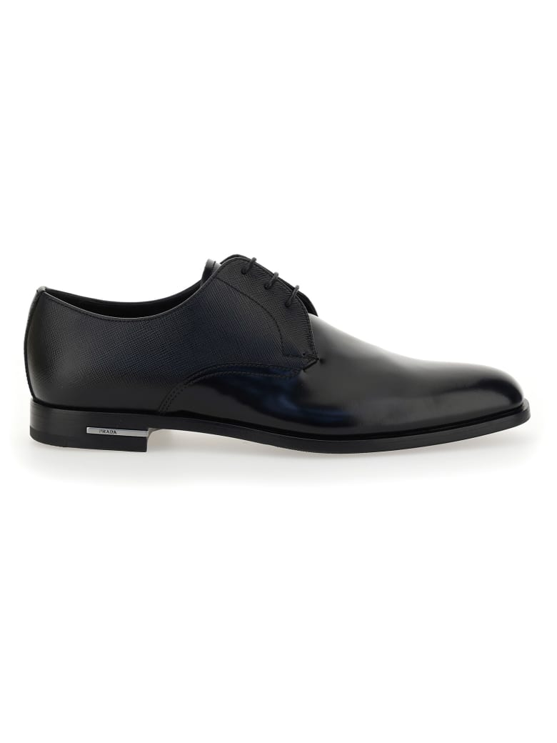 Prada Lace Up Shoes - Nero