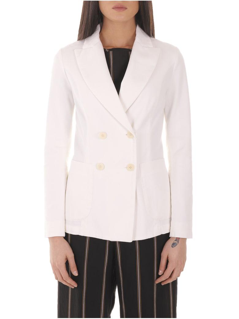 Barena White Dalia Sagia Jacket - White