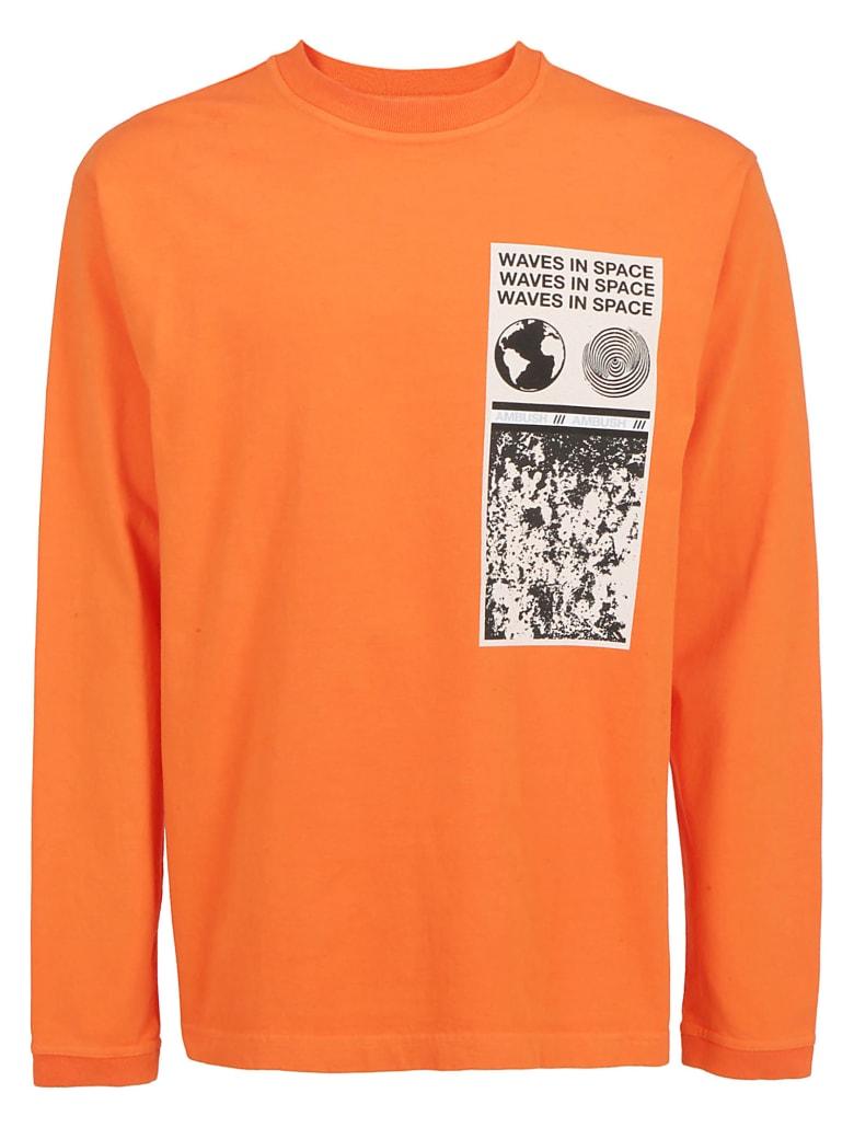 Cromoncent Men Tee Solid Color Long-Sleeve Zip Top T-Shirts