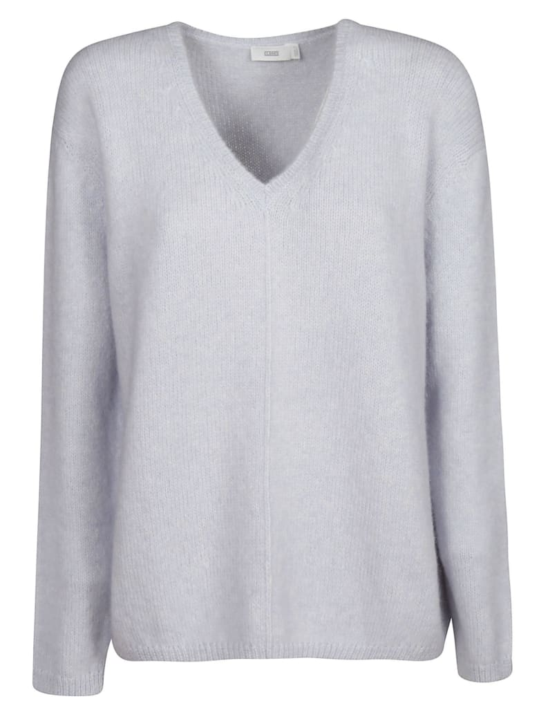 Closed Oversized Sweater - Pearl