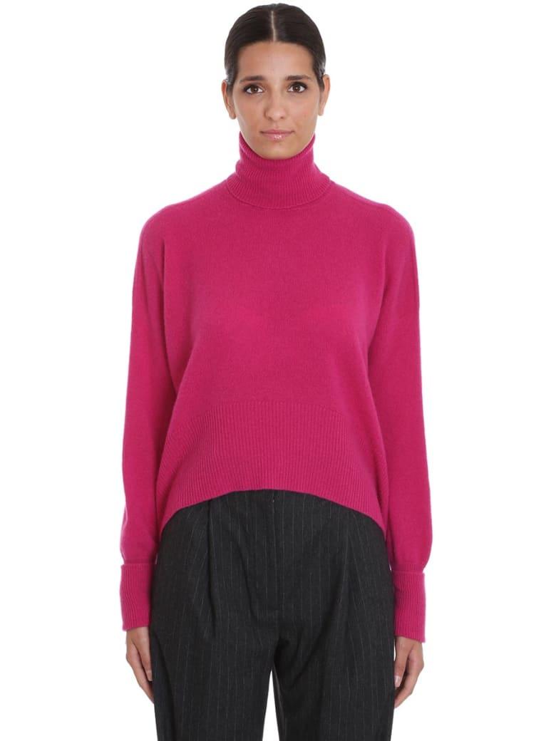 Maison Flaneur Knitwear In Fuxia Cashmere - fuxia