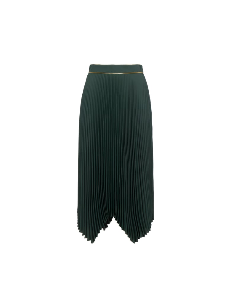 Tory Burch Sunburst Skirt - Petrol green