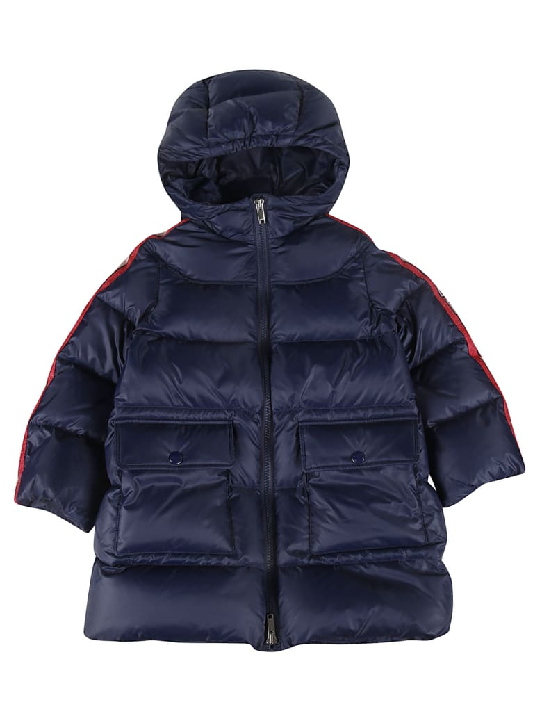 Gucci Hooded Padded Jacket - Blue Japan