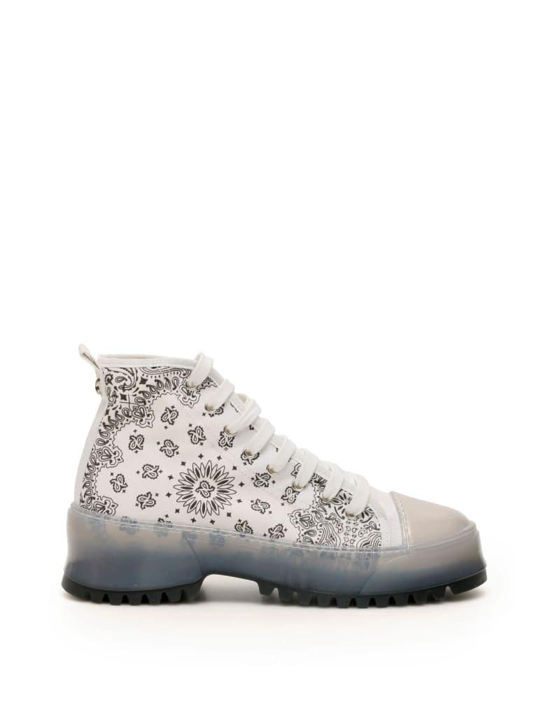 Dawni Bandana Sneakers - WHITE (White)