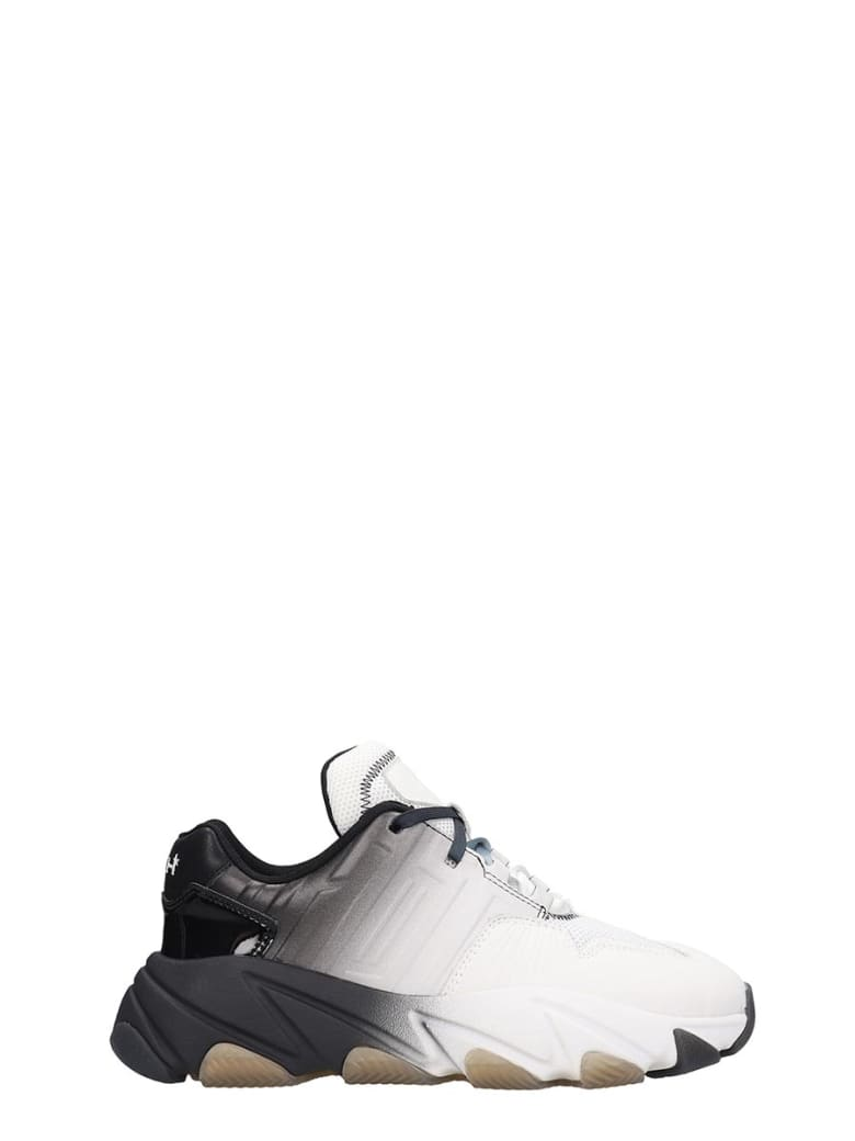 Ash Extassy 08 Sneakers In White Leather - white