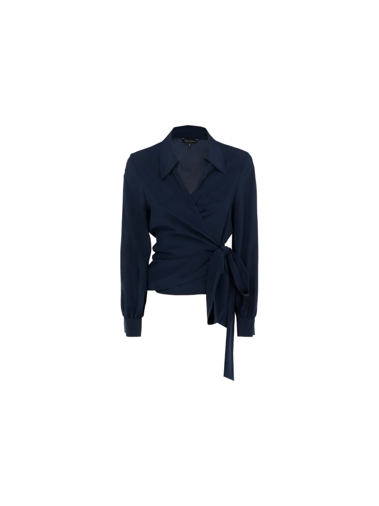 Tara Jarmon Tria Shirt - Bleu nuit