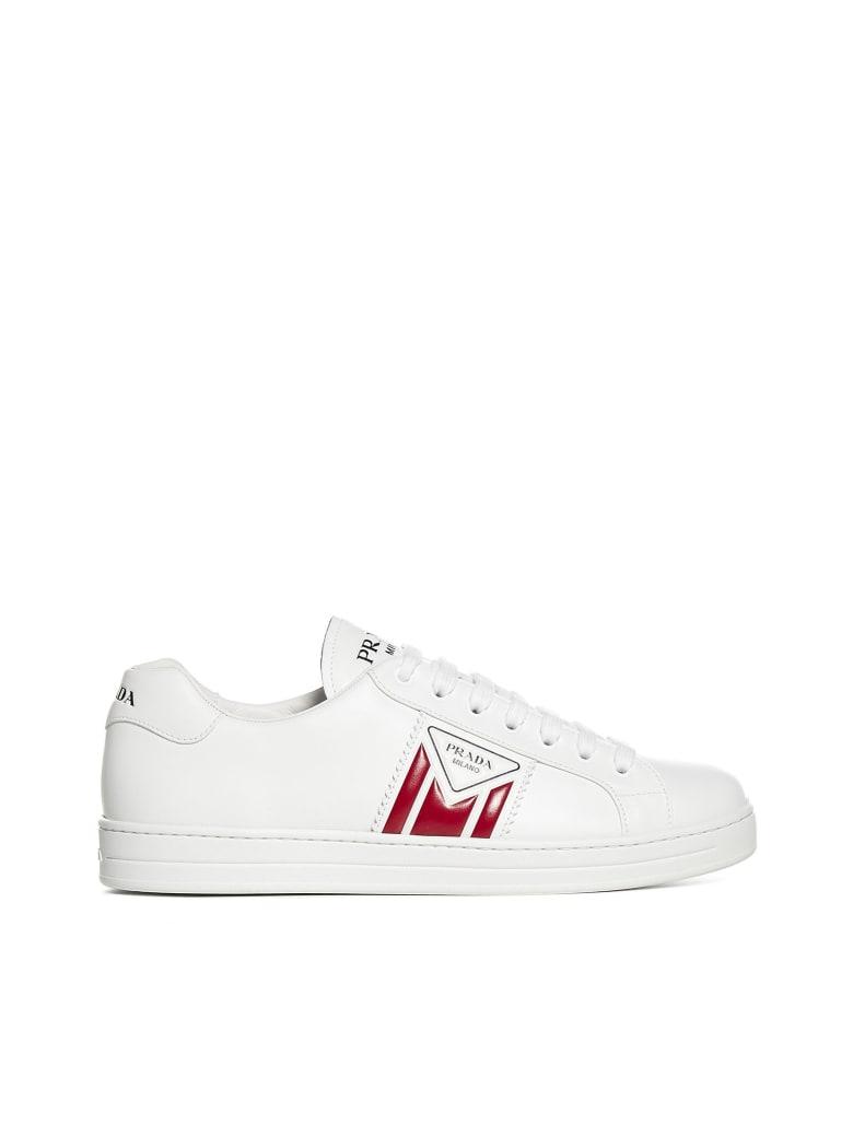 Prada Linea Rossa Sneakers - Bianco rosso