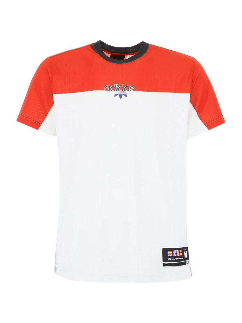 Adidas Originals by Alexander Wang Unisex T-shirt - ST BRICK CLEAR GREY (Red)