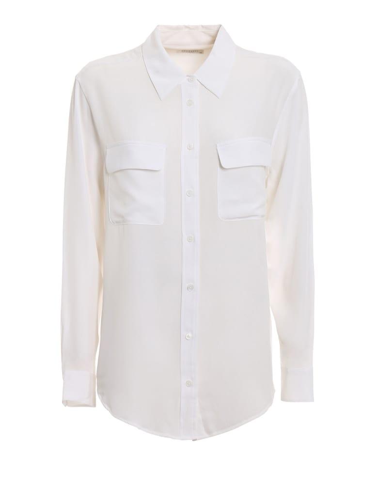 Equipment Signature Shirt - Bright White