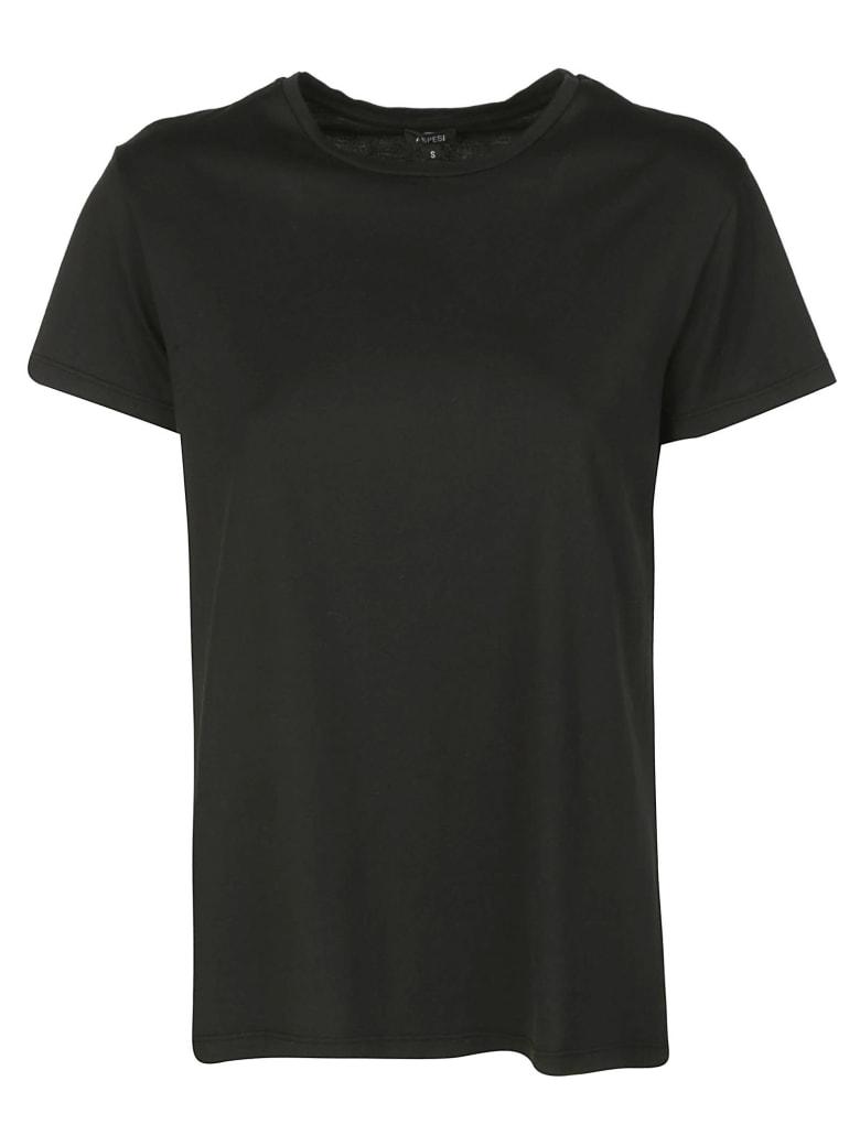 Aspesi Round Neck T-shirt - Nero