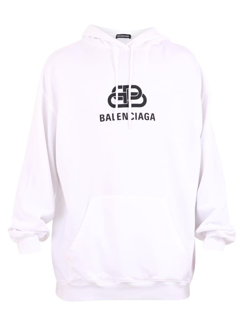 balenciaga mode hoodie white