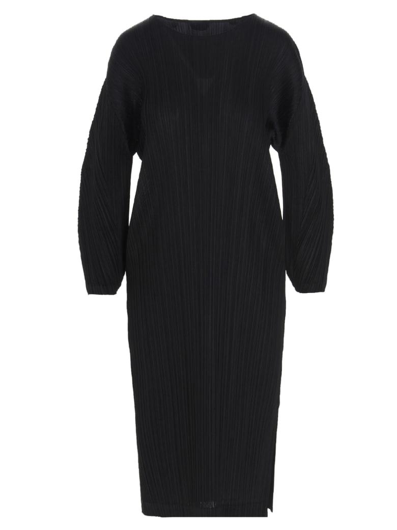 Pleats Please Issey Miyake Dress - Black