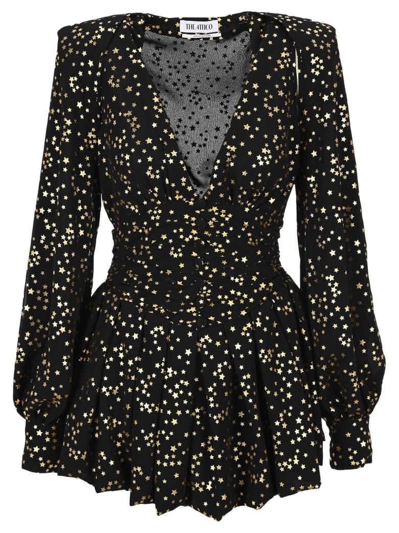 The Attico Attico Gold Stars Mini Dress - Nerooro