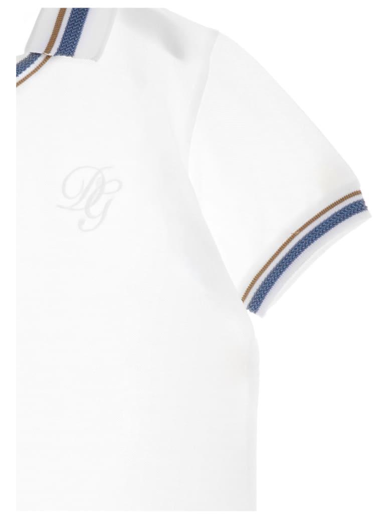 Dolce & Gabbana Polo - White