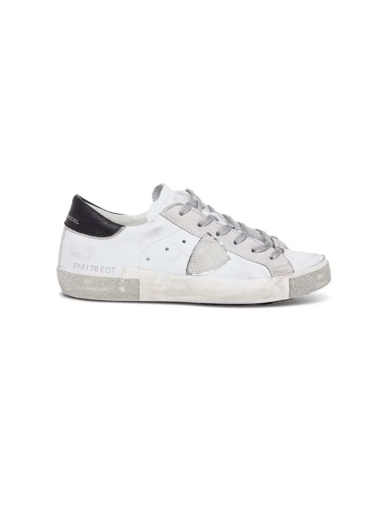 Philippe Model Leather Prsx Sneakers - White/black