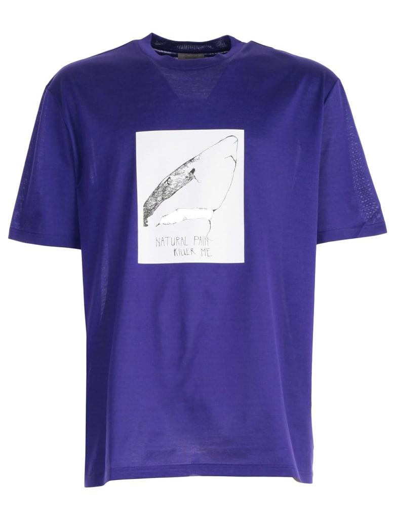 Lanvin Shark T-shirt - Ink Blue