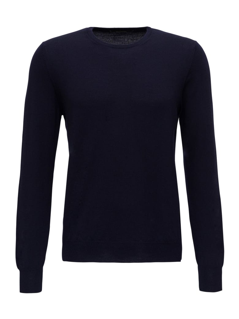 Tagliatore Wool Jumper - Blu