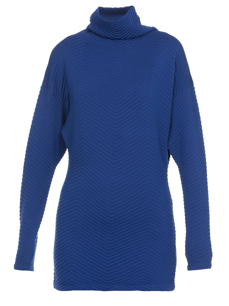 Victoria Victoria Beckham Wool Sweater - BRIGHT BLUE