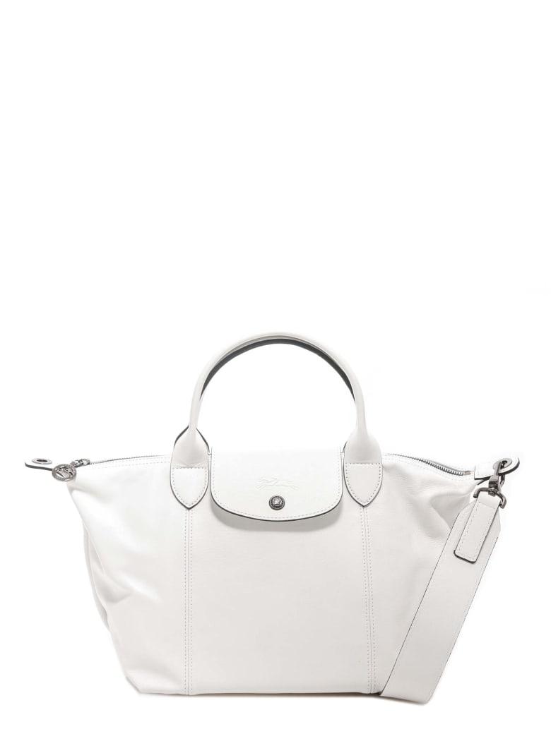 Longchamp Le Pliage Shoulder Bag - White