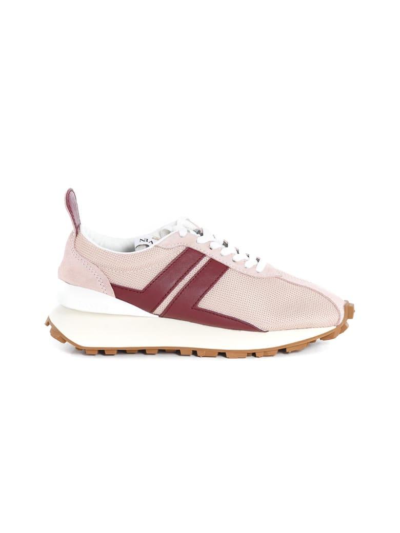 Lanvin Mesh Bumpr Sneakers - Blush Red