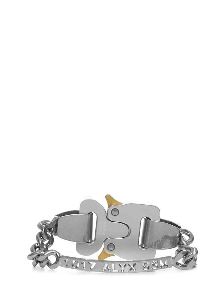 1017 ALYX 9SM Alyx Buckle Bracelet - Silver