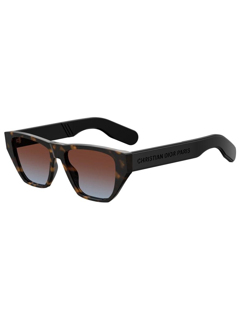 Christian Dior DIORINSIDEOUT2 Sunglasses - /yb Dark Havana