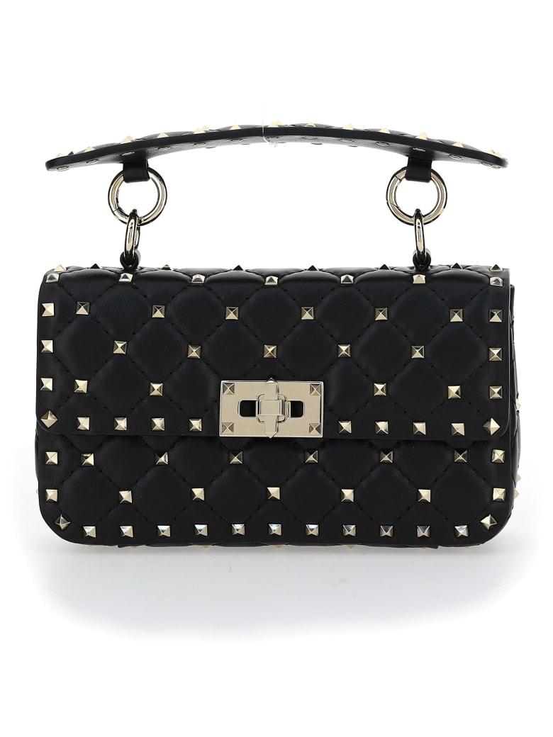 Valentino Garavani Rockstuds Handbag - Nero