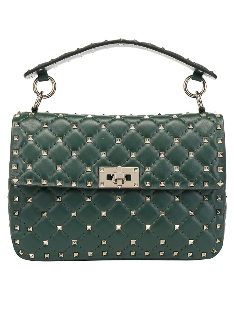 Valentino Garavani Medium Handbag - English green