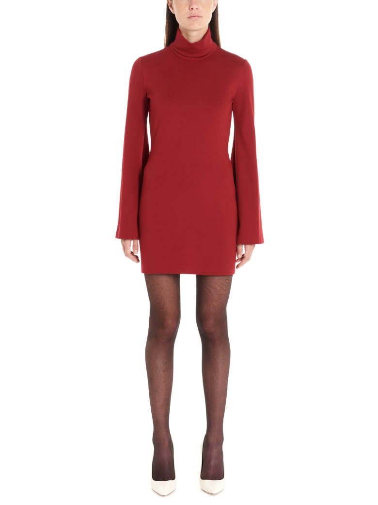 Sara Battaglia Dress - Burgundy