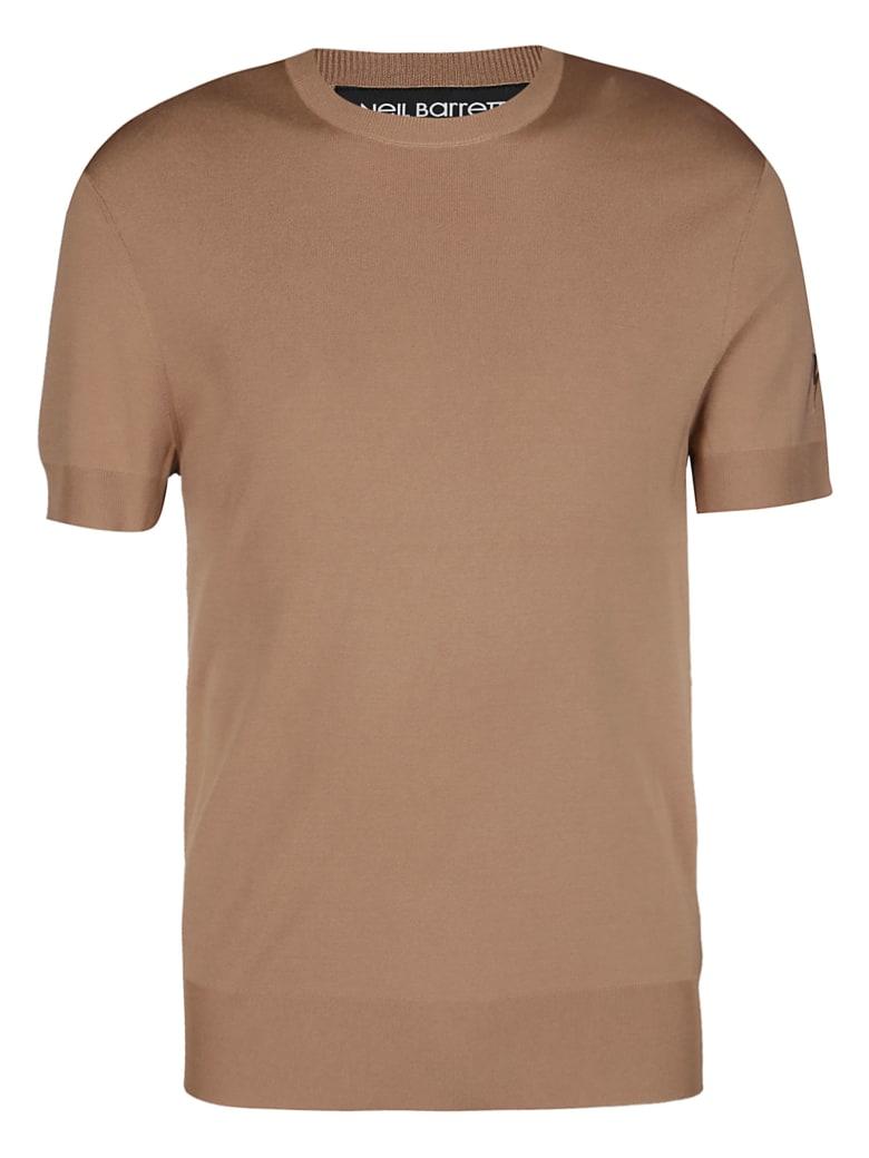 Neil Barrett Knit T-shirt - Beige