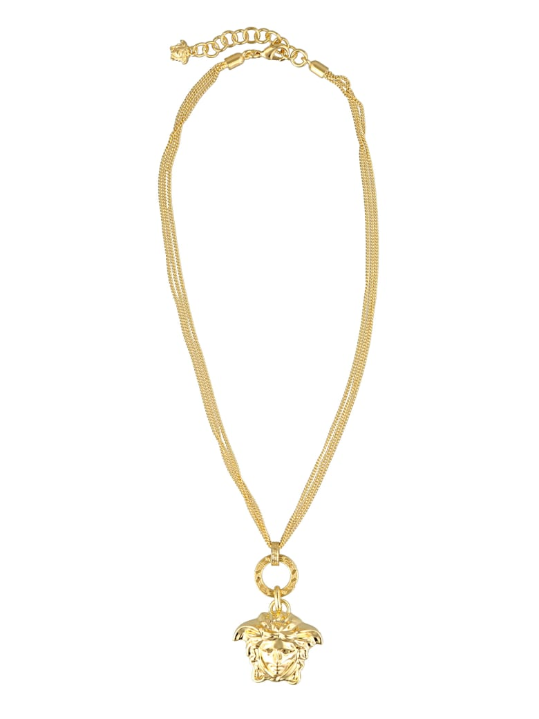 Versace Medusa Necklace - Gold