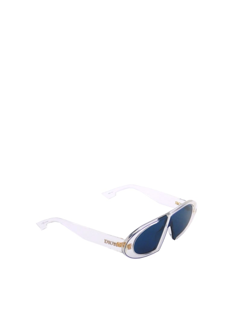 Christian Dior DIOROBLIQUE Sunglasses - Crystal