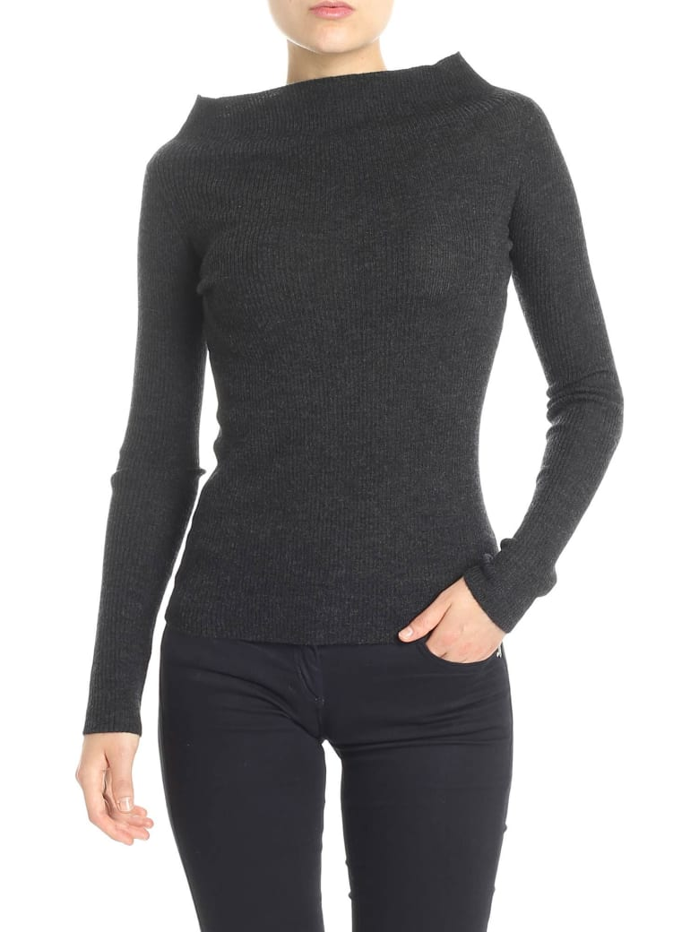 360 Sweater 360 Cashmere   Dorothy Sweater - Grey