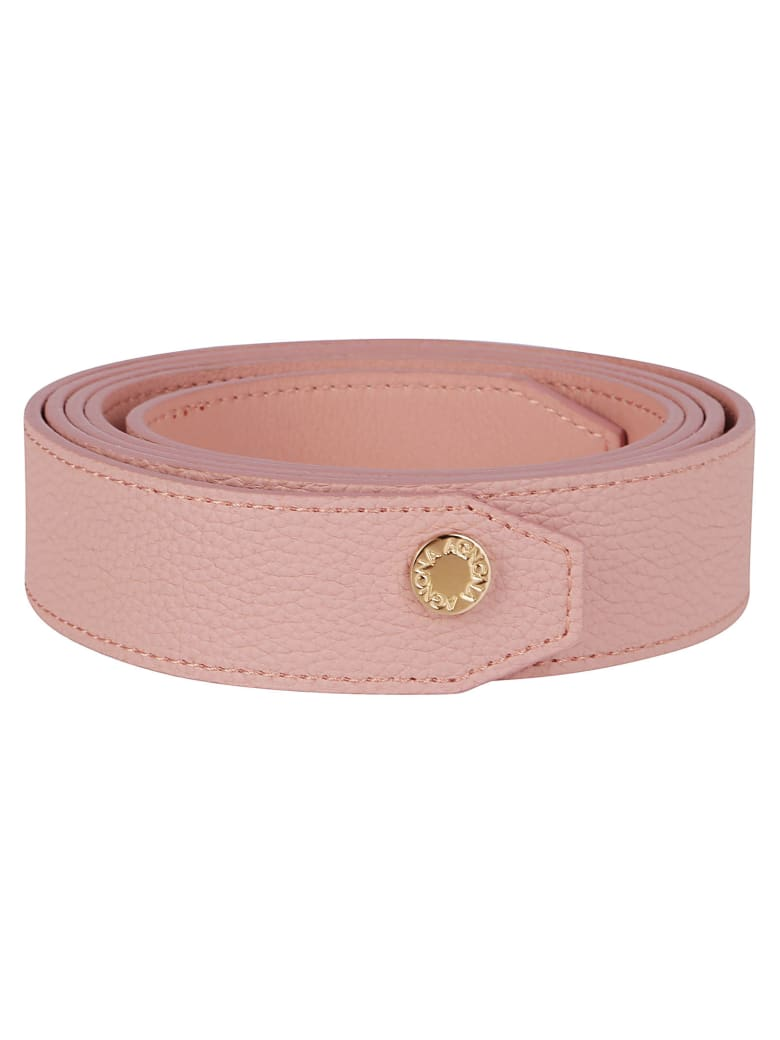 Agnona Pink Leather Belt - Pink