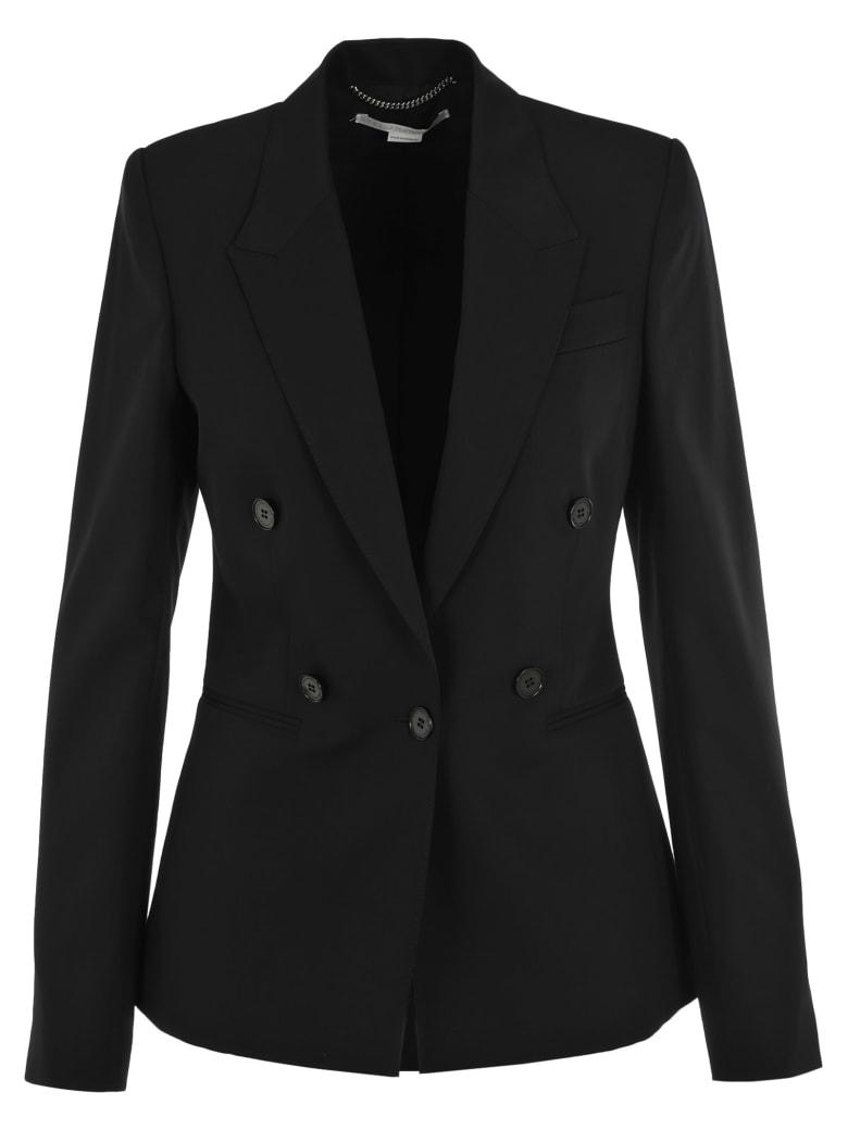 Stella McCartney Fake Double Breasted Blazer - BLACK