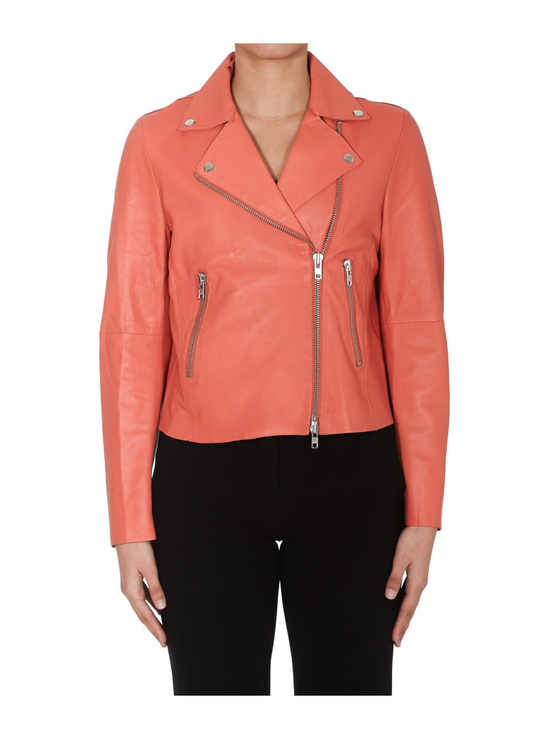 S.W.O.R.D 6.6.44 Leather Jacket - Peach