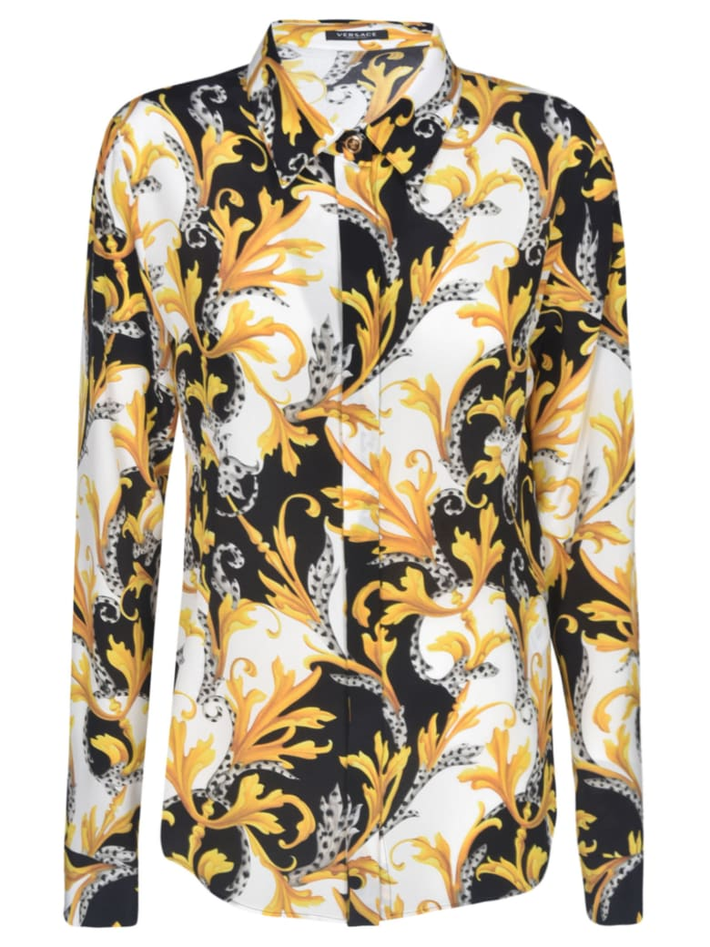 Versace All-over Printed Shirt - MULTICOLOR