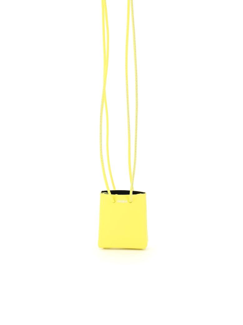 Medea Mini Medea Long Strap Micro Bag - SAFETY YELLOW (Yellow)