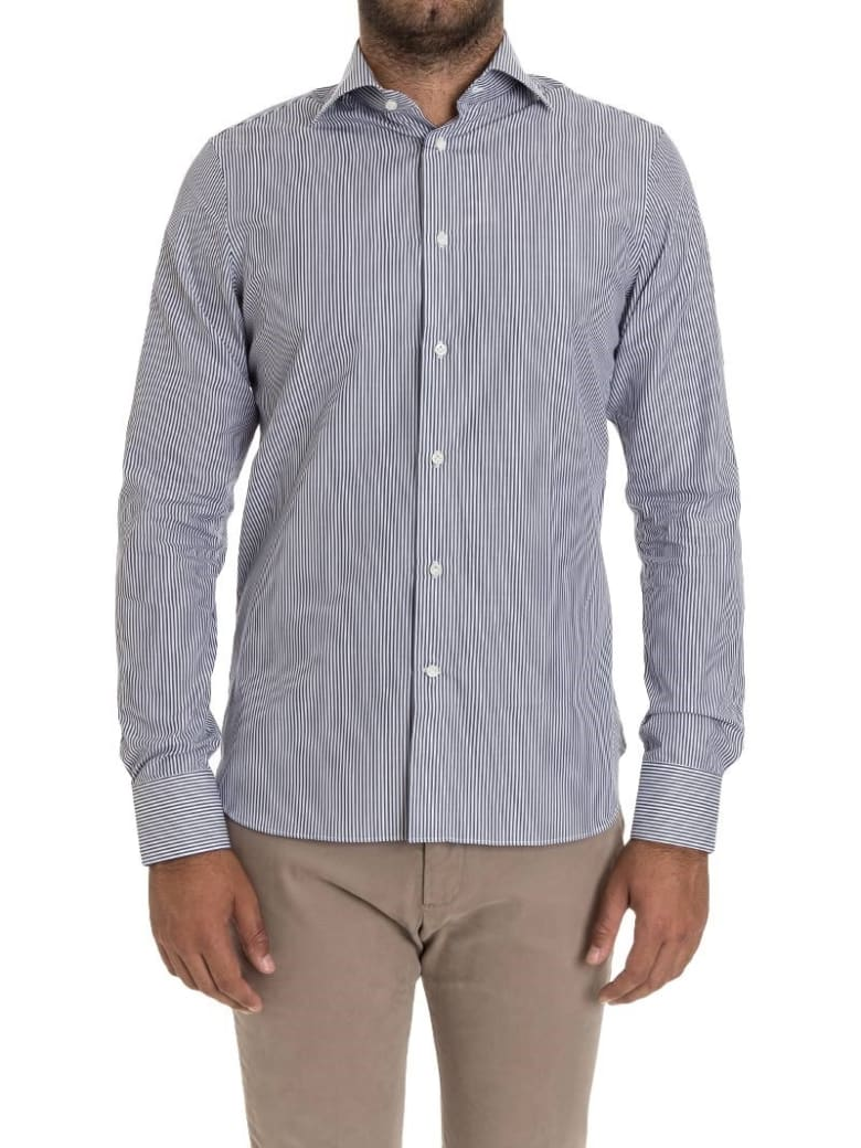 G. Inglese G Inglese Cotton Shirt - Blue
