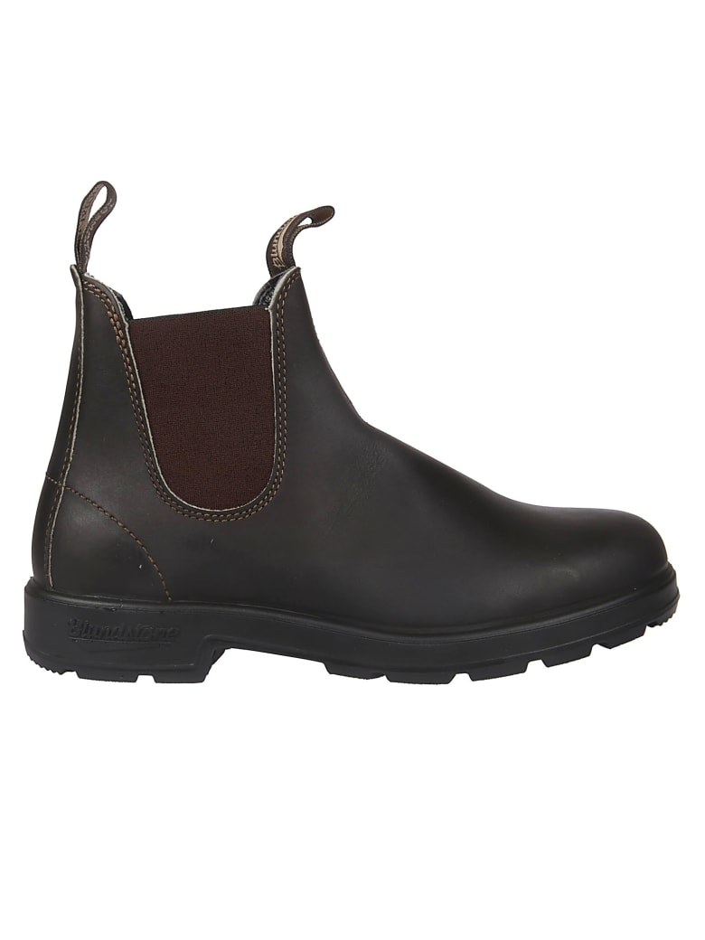Blundstone Lined Elastic Side Boots - Stout Brown